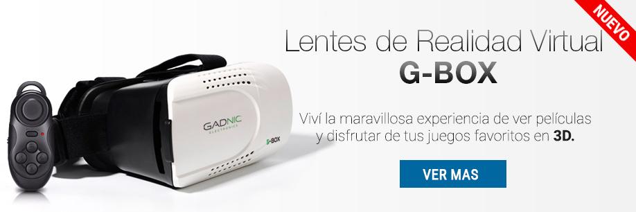 Virtual G Box Gadnic Lentes 3D