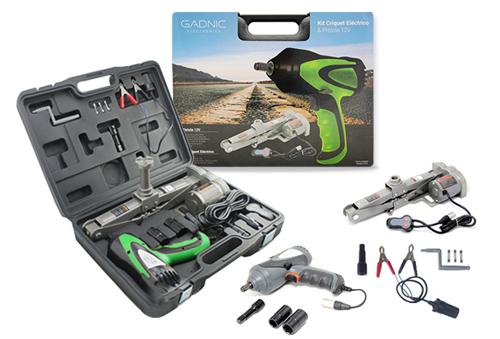Kit Crique Gadnic + Pistola + Accesorios 12 volt se entrega con estos accesorios