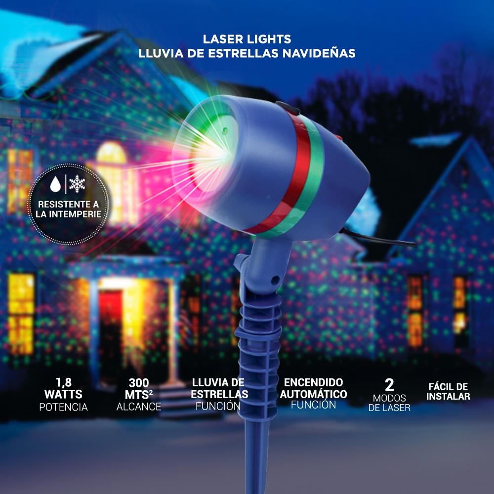 249efc02e04 Laser Lights Luces Navideñas