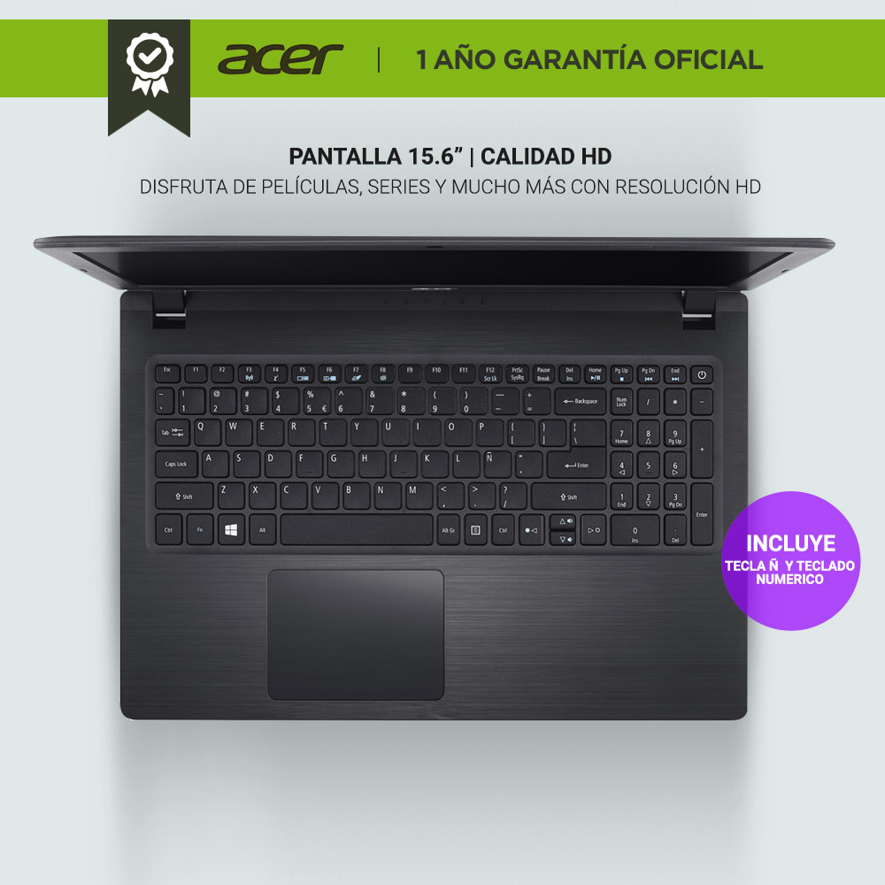 Notebook Acer Aspire 3   Core i3 Windows 10  https   www.youtube.com embed p3gTHHjU7FQ rel 0 Video del  NOT00045  2018-10-31 17 59 21 1f2b42c522