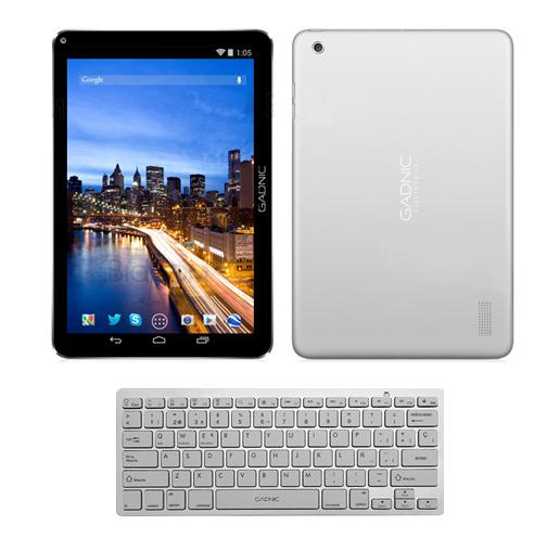 Tablet GADNIC Pyxis 10″ + Mini Teclado Inalámbrico se entrega con estos accesorios