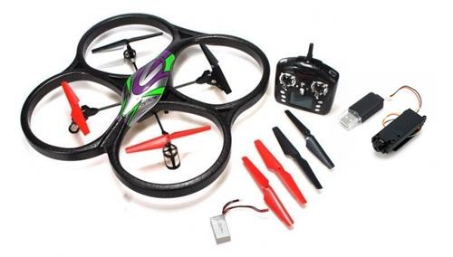 UFO Drone 4 CH con Cámara se entrega con estos accesorios