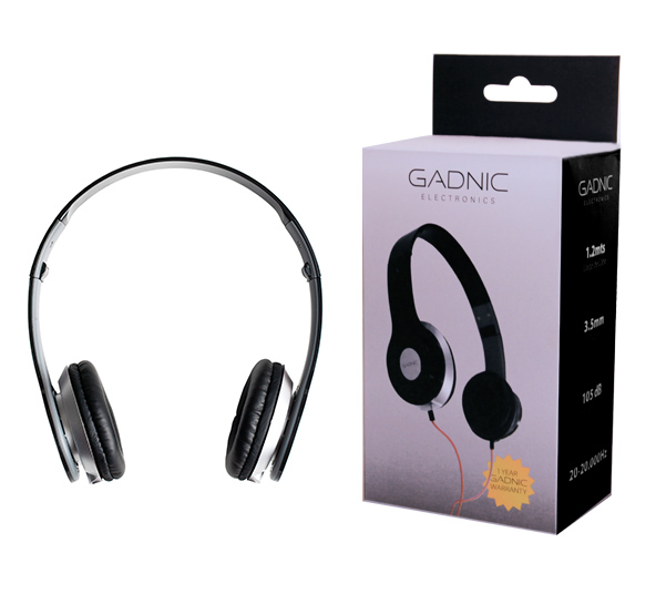Auriculares Gadnic A33 se entrega con estos accesorios