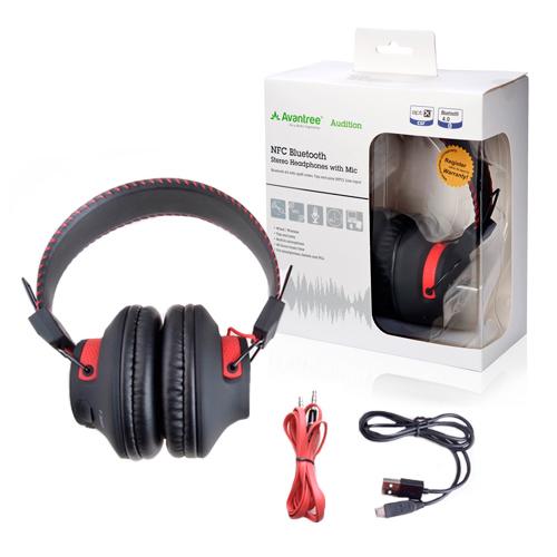 Auriculares Bluetooth Avantree Audition se entrega con estos accesorios