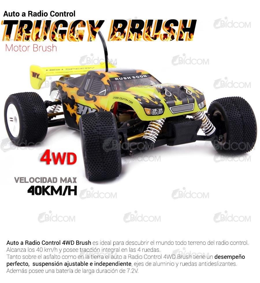 Camioneta TRUGGY 4×4 Brush