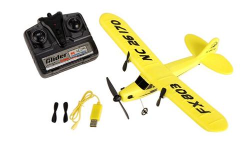 Avioneta Piper Club J3 se entrega con estos accesorios