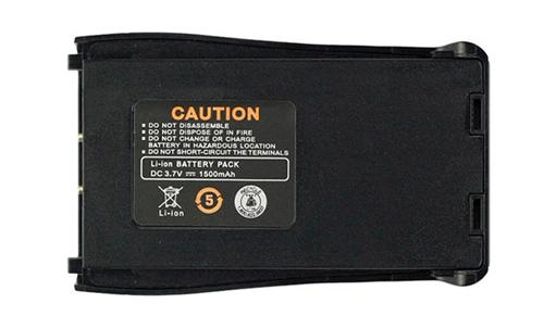 Batería Baofeng para BF-888S se entrega con estos accesorios