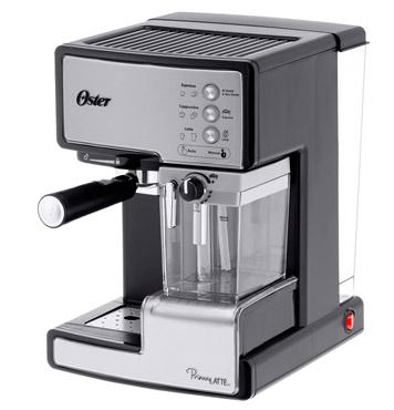 Cafetera Expresso Oster 6601 Prima Latte se entrega con estos accesorios