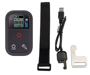 Gopro Smart Control se entrega con estos accesorios
