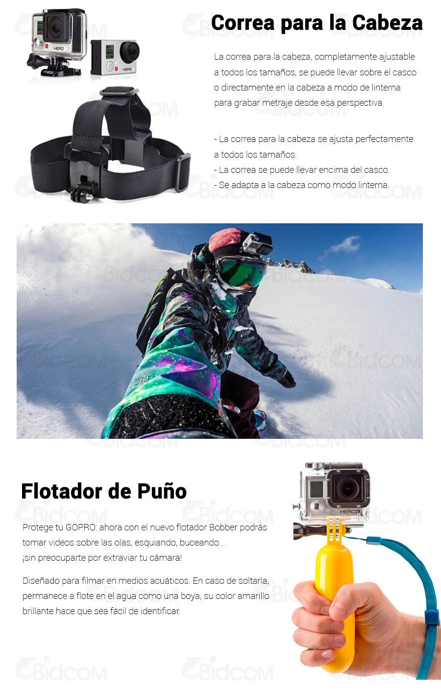 Kit SIM soportes para GoPro