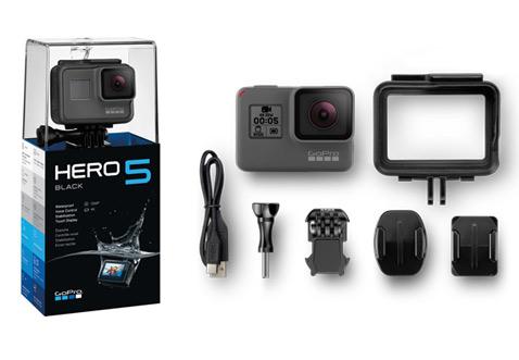 GoPro Hero 5 Black Edition se entrega con estos accesorios