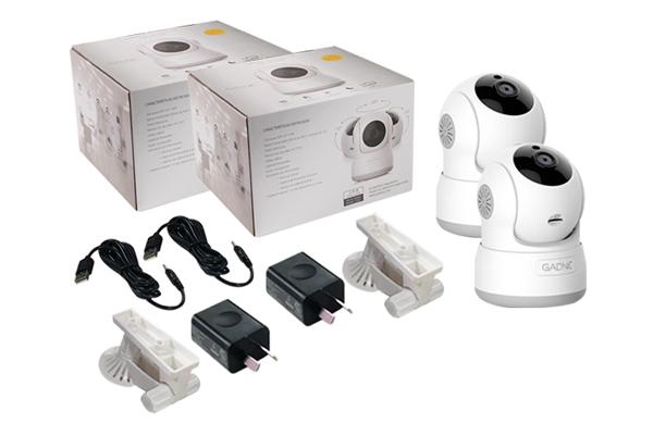 Kit x 2 Cámaras Seguridad P2P | IP | Wifi | Domo Motorizado se entrega con estos accesorios