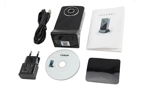 Cámara Seguridad P2P | IP | Wifi | HD 1080P se entrega con estos accesorios