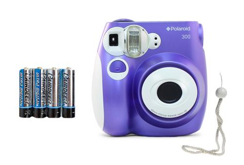 Camara Polaroid Pic-300 se entrega con estos accesorios
