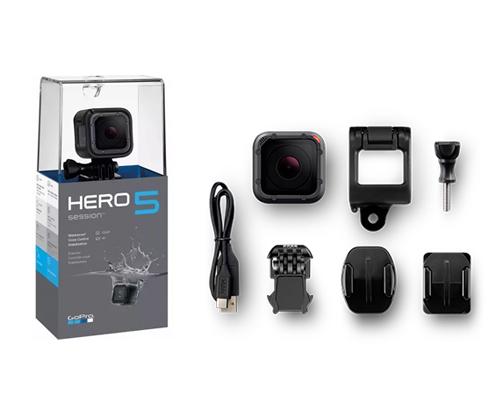 GoPro Hero 5 Session se entrega con estos accesorios