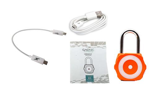 Candado Security Mate se entrega con estos accesorios