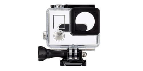 Carcasa Housing  Sumergible   GoPro Hero 3, Hero 4 se entrega con estos accesorios