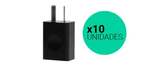 Cargadores USB Homologados X 10 Unidades se entrega con estos accesorios