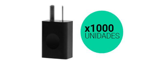 Cargador USB Homologados x 1000 Unidades se entrega con estos accesorios
