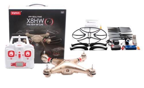 Drone Syma con Camara Explorers X8HW FPV se entrega con estos accesorios