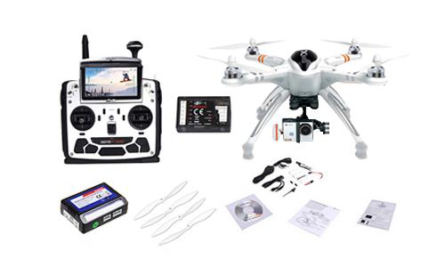 Drone Walkera QR X350 PRO FPV Con Cámara ILook+ se entrega con estos accesorios