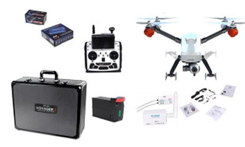 Drone Walkera Voyager 3 Full HD Profesional se entrega con estos accesorios