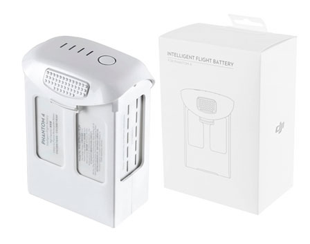 Batería para Phantom 4 DJI 5350 mAh se entrega con estos accesorios