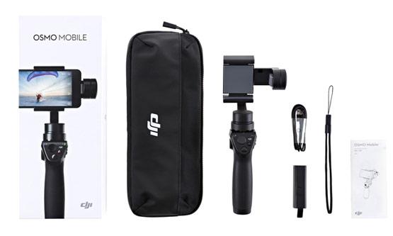 OSMO MOBILE DJI / Estabilizador para celulares se entrega con estos accesorios