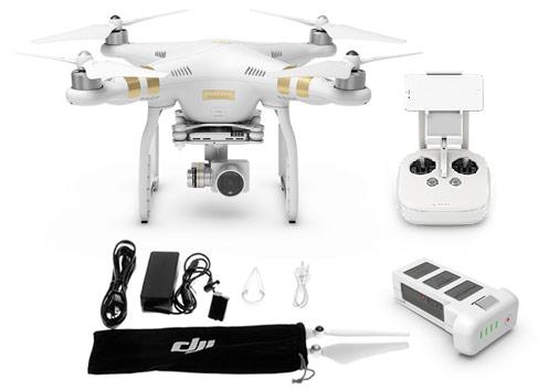 Drone DJI Phantom 3 Professional se entrega con estos accesorios
