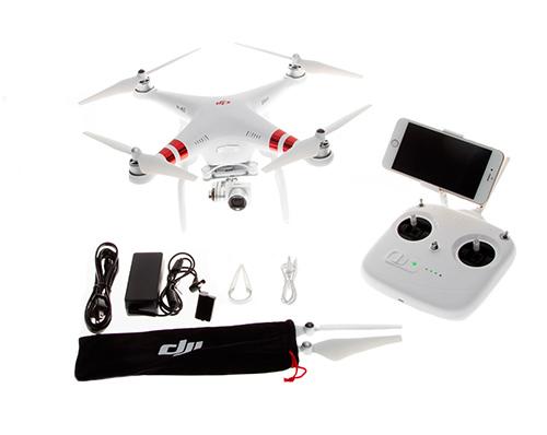 Drone DJI Phantom 3 Standard se entrega con estos accesorios