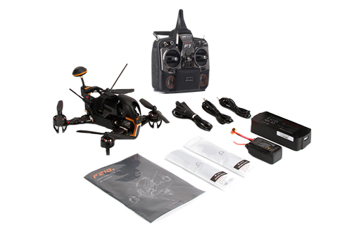 Drone Walkera Runner F210 | GPS | FPV se entrega con estos accesorios