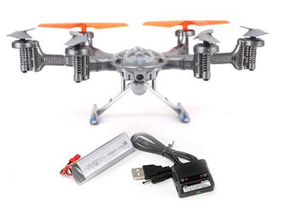Hexacóptero QR Y100 Wifi Walkera se entrega con estos accesorios