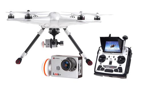 Drone Hexacóptero TALI H500 Walkera se entrega con estos accesorios