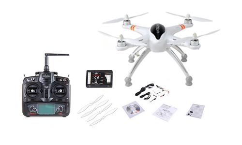 Drone Walkera QR X350 se entrega con estos accesorios