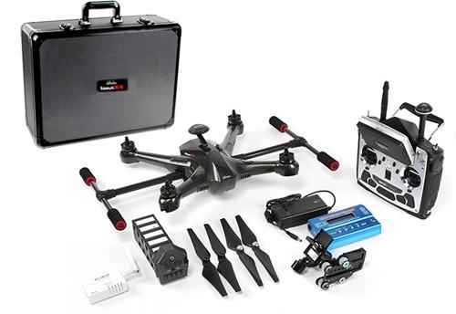 Drone Walkera SCOUT X4 se entrega con estos accesorios