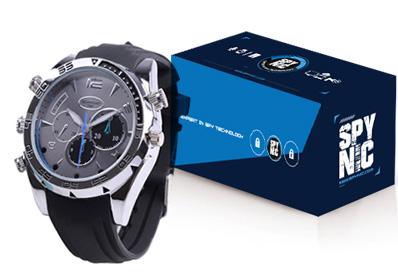Reloj Infrarrojo Sumergible Detective Watch Full HD se entrega con estos accesorios
