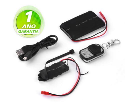 Module Cam 1080P se entrega con estos accesorios