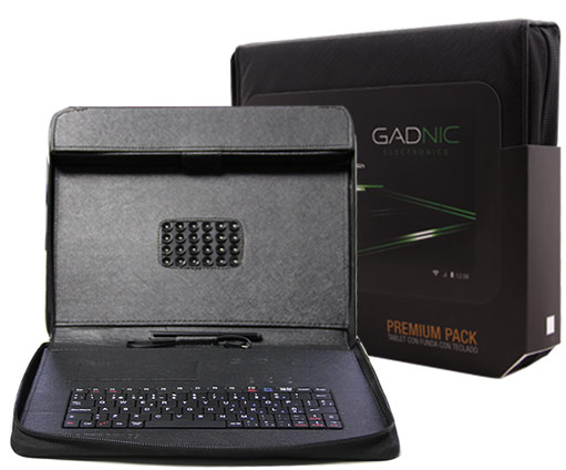 Funda Box Premium Gadnic con teclado GADNIC 9, 9.4″, 10 y 10.1 se entrega con estos accesorios