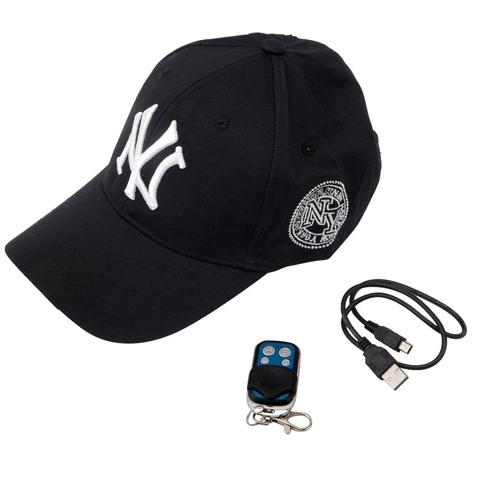 Gorra espía deportiva | NY  FULL HD se entrega con estos accesorios