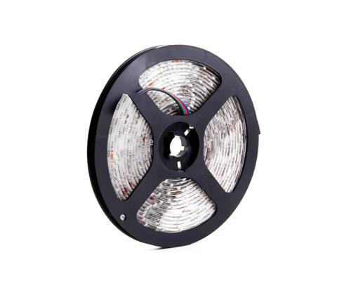 Tira de Led 3528 RGB Exterior 60/m con silicona se entrega con estos accesorios