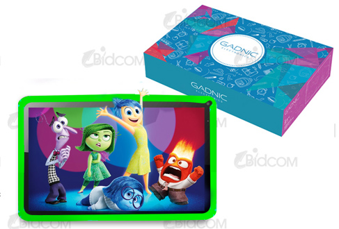 Tablet GADNIC QUADSPEED KIDS 10″ | 3G – HDMI – Bluetooth se entrega con estos accesorios