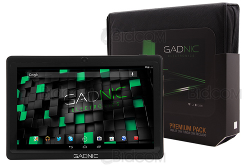 Tablet Black 7″ con HDMI – Quadcore – 16GB – Funda Box con Teclado se entrega con estos accesorios