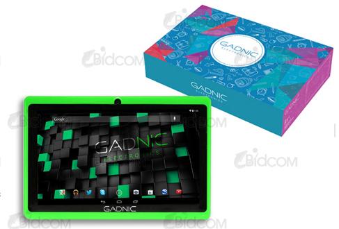 Tablet GADNIC SILVER 7″ – Quadcore – 3G – 16GB se entrega con estos accesorios