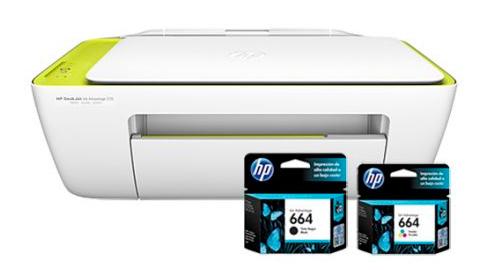 Impresora Hp 2135 Deskjet Multifuncion se entrega con estos accesorios