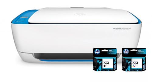 Impresora HP 3635 Multifuncion | Wifi se entrega con estos accesorios
