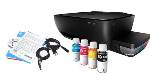 Impresora HP DeskJet GT 5820 Multifunción se entrega con estos accesorios