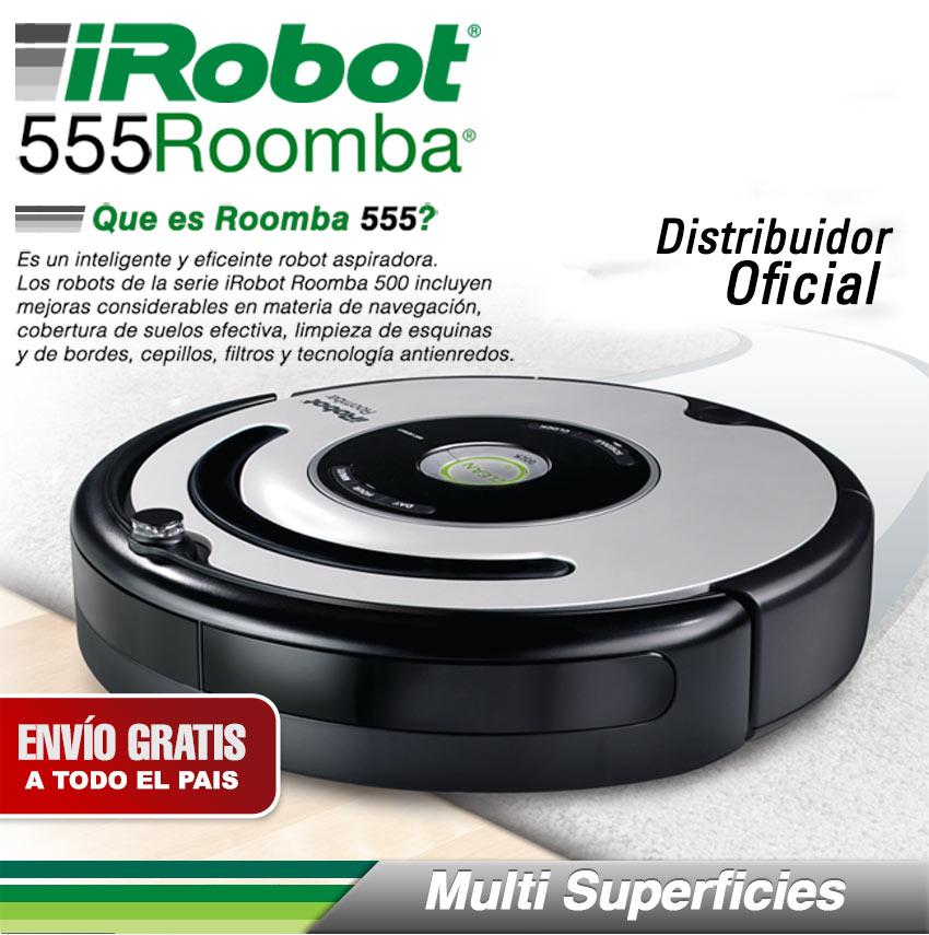Aspiradora inteligente irobot roomba 555