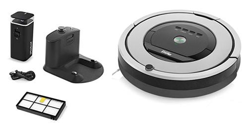 Irobot Roomba 860 se entrega con estos accesorios