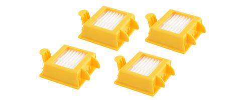 Pack de 4 filtros serie 700 Roomba Irobot se entrega con estos accesorios