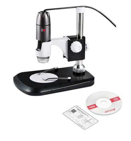 Microscopio Digital con Cámara U1000X | 5MPx se entrega con estos accesorios
